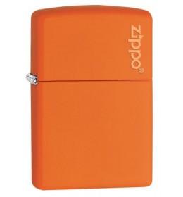 Zippo upaljač Orange Matte with Zippo Logo