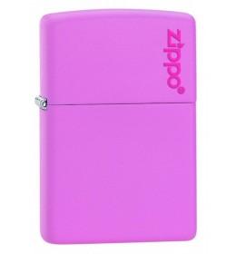 Zippo upaljač Pink Matte with Zippo Logo