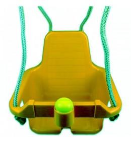Ljuljaška za decu sa trubicom žuta
